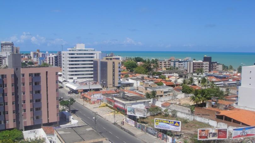 João Pessoa (vista da varanda do hotel)